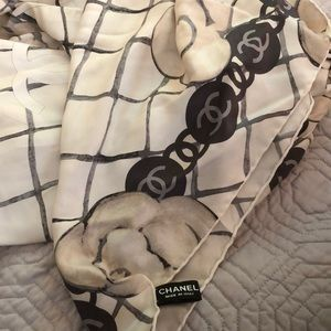 Authentic Silk Chanel Scarf!